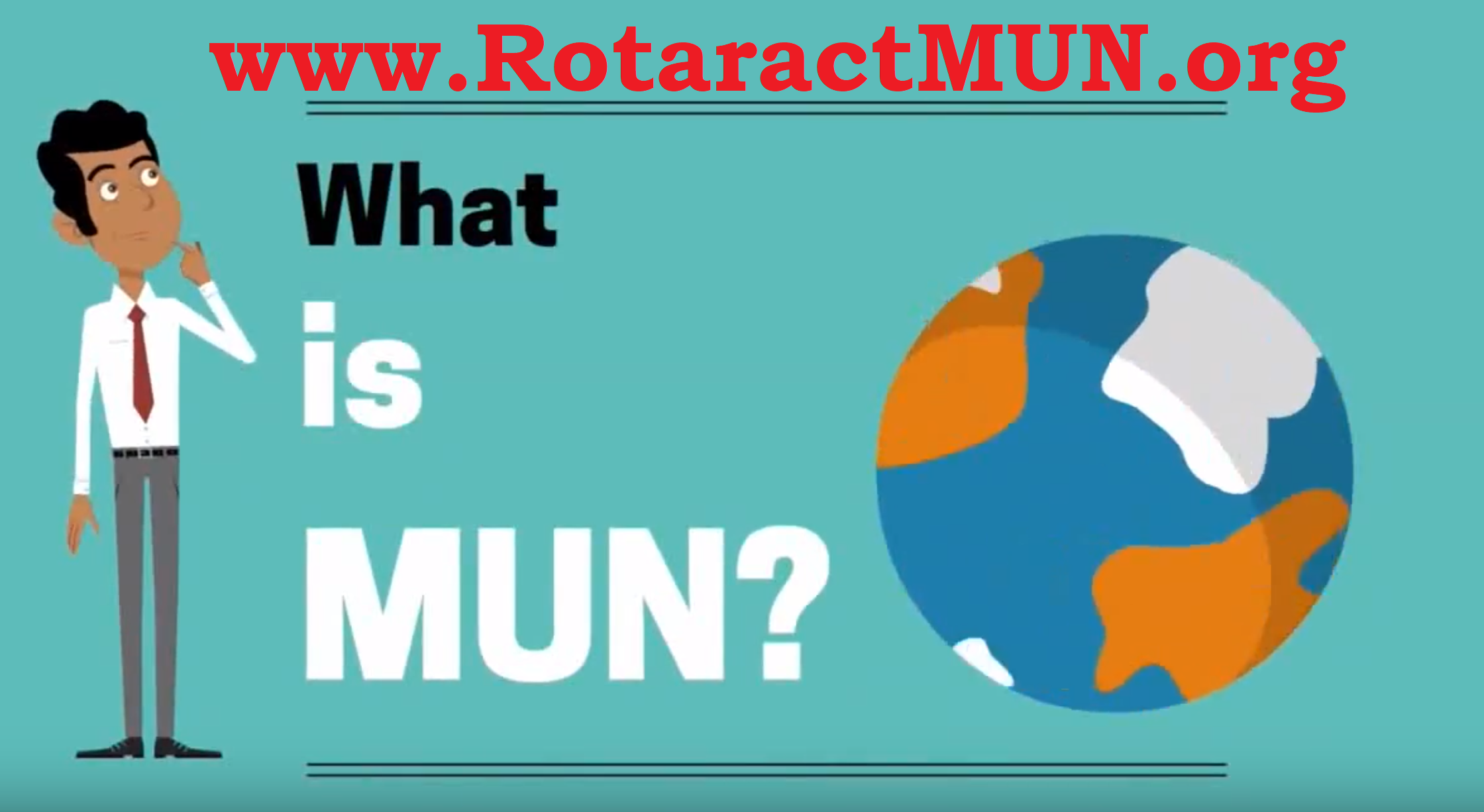 rotaract model united nations